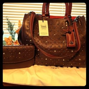 Authentic Coach Prairie RVT Rouge
